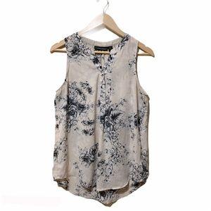 Anthropology Cynthia Rowley floral blouse, medium